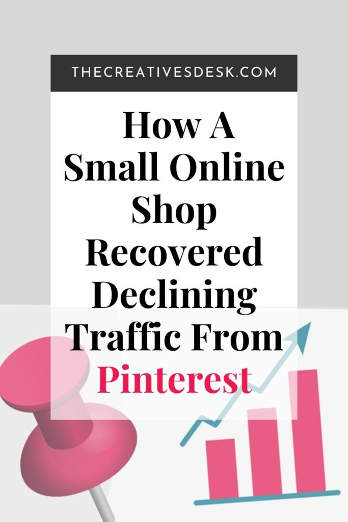 How An E-commerce Store Recovered Declining Pinterest Referral Traffic With A New Strategy