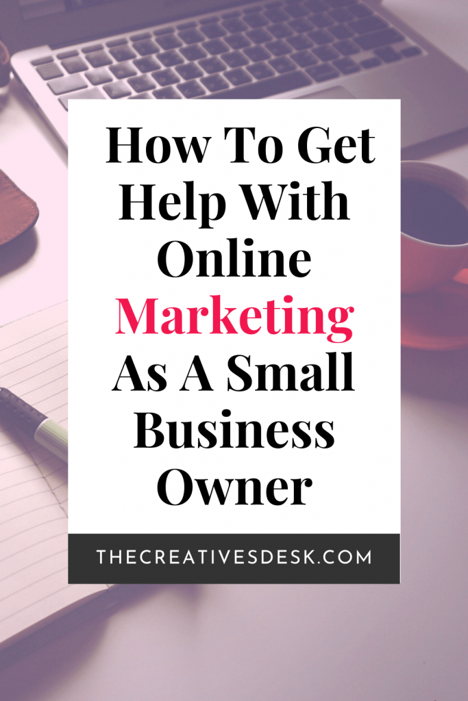 Online Marketing Help for Small Business Owners