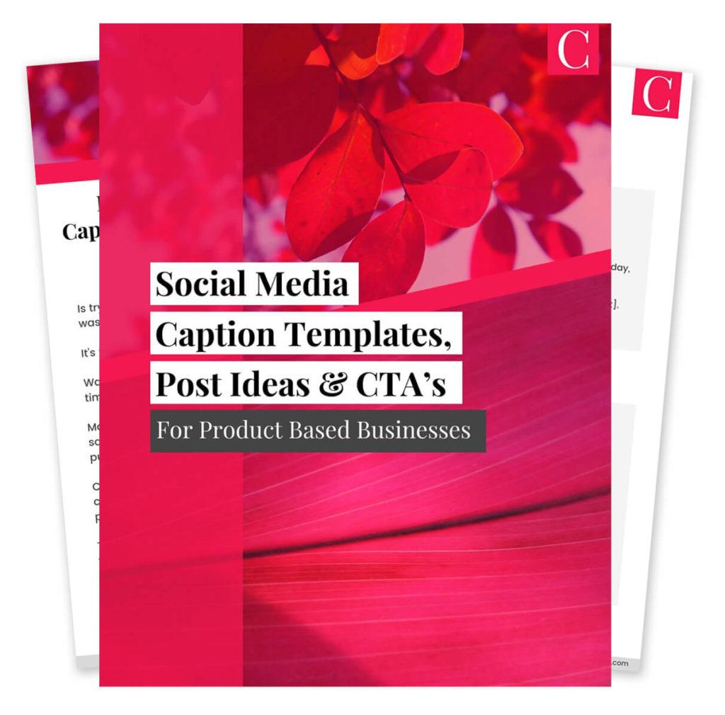 Social Media Post Ideas Booklet